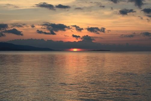 竹富島 コンドイビーチの夕日.jpg