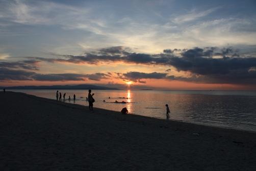 竹富島 コンドイビーチの夕日 二日目.jpg